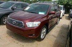 2008 Toyota Highlander Red for sale