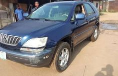 Lexus RX300 blue 2002 first body for sale in port harcourt