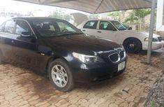 Neatly Used Black BMW 525i for sale