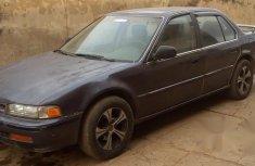 Honda Accord 1992 Blue for sale