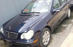 Mercedes-Benz C280 2006 Blue fỏ sale