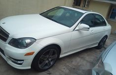 Mercedes-Benz C300 2009 Upgraded To 2014 White for sale