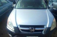 Clean Honda CRV 2004 Silver for sale