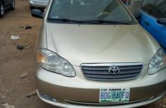 Toyota Corolla CE 2006 Gold for sale