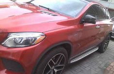 Mercedes-Benz GLE450 2016 Red for sale