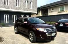 Ford Edge Limited 2012 Red for sale