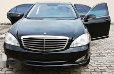Nigerian Used Mercedes-Benz S Class S550 2007 Black for sale