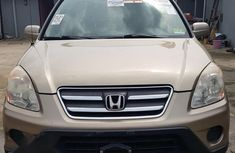 Honda CR-V 2005 Beige for sale