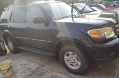 Toyota Sequoia 2002 Black for sale