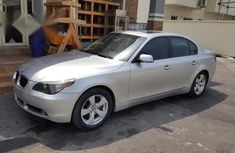 BMW 530i 2007 Silver for sale