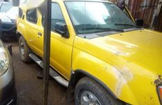 Clean Nissan Xterra 2002 Yellow for sale