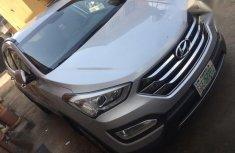 Hyundai Santa Fe 2016 Silver for sale