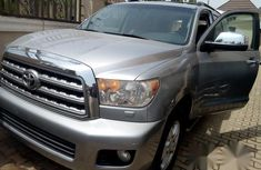 Toyota Sequioa 2008 Silver For Sale