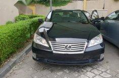 Clean Lexus ES 350 2010 Black for sale