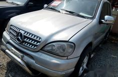 Cheap Mercedes-Benz Ml320 2003 Silver For Sale