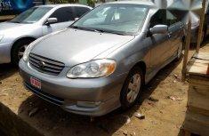Toyota Corolla Sedan Automatic 2004 Gray for sale