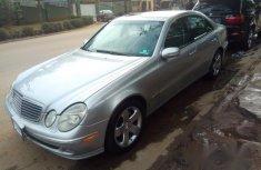 Mercedes-Benz E500 2004 Silver for sale