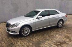 Mercedes-Benz E300 2015 Silver For Sale