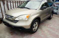 Honda CR-V 2.4 LX 4x4 Automatic 2008 Brown for sale