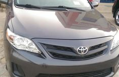Clean Toyota Corolla 2012 Gray for sale