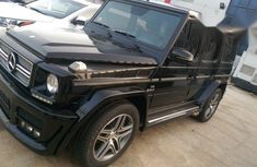 Mercedes Benz G Wagon G63 2012 Black for sale