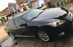 Lexus ES 350 2011 Black for sale