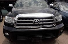 Toyota Sequoia 2013 Petrol Automatic Black