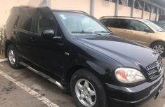 Mercedes-Benz Ml320 2003 Black for sale