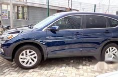 Honda CRV 2017 Blue for sale