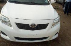 Toyota Corolla 2009 White for sale