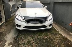 Mercedes-Benz S550 2015 White for sale