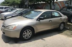 Honda Accord 2003 2.4 Beige for sale