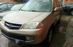 Acura MDX 2001 Gold for sale