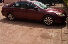 Honda Accord 2007 Red For Sale for sale