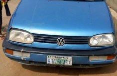 Volkswagen Golf 2.0 Cabriolet 1998 Blue for sale