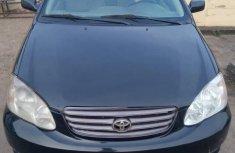 Toyota Corolla LE 2004 Black for sale