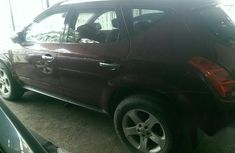 Clean Nissan Murano 2005 Red for sale