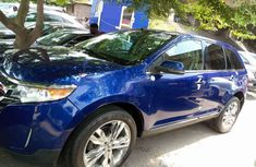 Ford Edge 2013 Petrol Automatic Blue for sale
