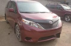Toyota Sienna 2012 Red for sale