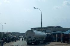 Tanker crushes 7 people to death in Onitsha!