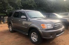 Toyota Sequoia 2005 Gray for sale