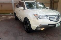 Acura ZDX 2007 White for sale