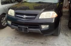 Foreign Used Acura MDX 2002 Black for sale