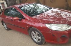 Peugeot 407 2004 1.6 D Red for sale