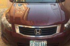 Honda Accord 2008 wine Color for sale
