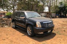 Cadillac Escarlade SUV 2009 Black for sale
