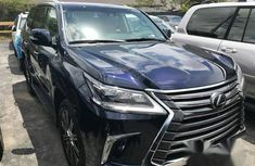 Brand New Lexus LX570 2018 Blue 2015 for sale