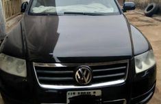 Volkswagen Touareg Automatic 2005 Black for sale