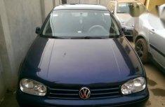 Volkswagen Golf 2002 Blue for sale