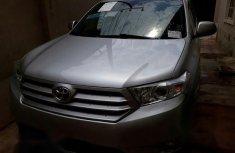 Toyota Highlander 2011 Silver for sale